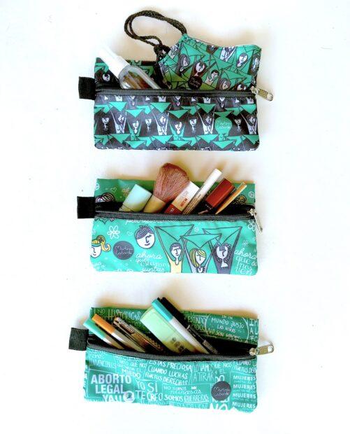 Estuches pañuelo verde